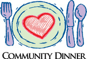 Community Dinner at Methodist Church every Thursday